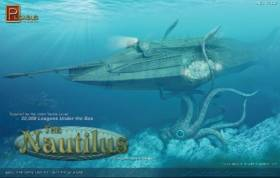 Jules Verne Nautilus Submarine from 20,000 Leagues Under The Sea