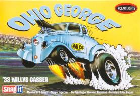 1933 Willys Gasser Ohio George Drag Car (Snap Kit)
