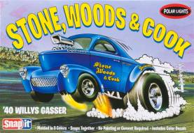 1940 Willys Gasser Stone, Woods & Cook Drag Car (Snap Kit)