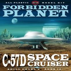 Forbidden Planet C57D Space Cruiser