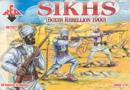 Sikhs, Boxer Rebellion 1900