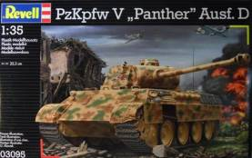 WWII German PzKpfw V Panther Ausf D Tank