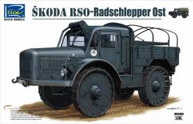 WWII German Radschlepper OST Skoda RSO Vehicle