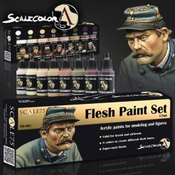 Scale Color- Flesh Paint Set