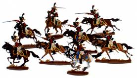 Napoleonic: French Chasseurs � Cheval (8 pcs.)