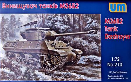 WWII U.S. M36B2 Tank Destroyer
