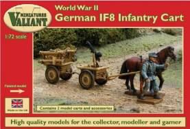 WWII German IF8 Infantry Carts