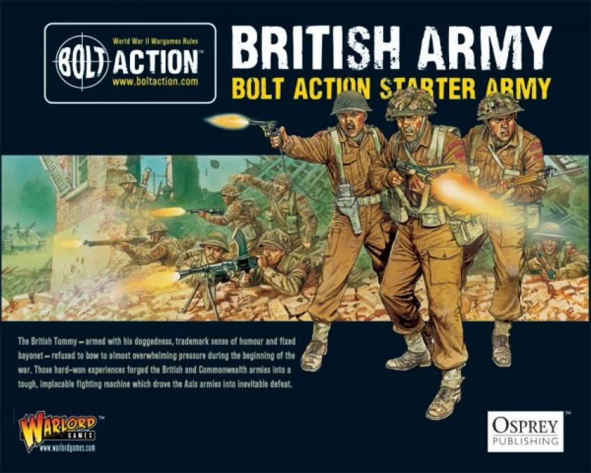 Bolt Action Starter Army - British - ZOOM in