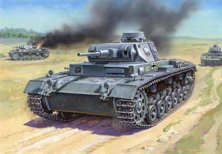 WWII German Panzer III