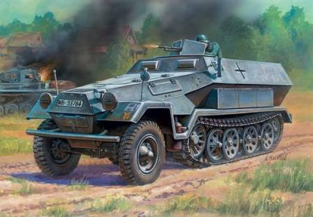 WWII German Sd.Kfz.251-1 Ausf.B