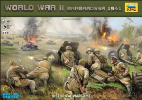 WWII Operation Barbarossa 1941 an Art of Tactic Historical Wargame