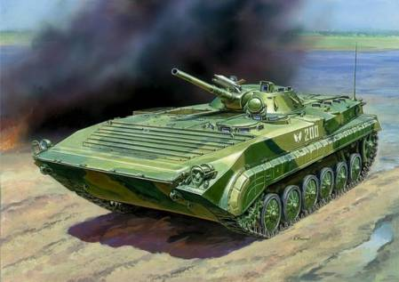 Soviet BMP-1 Russian Infantry Fighting Vehicle