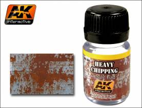 Chipping Effects- Heavy Chipping Fluid 35ml Bottle