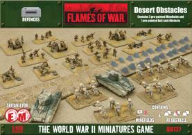 Battlefield in a Box - Desert Obstacles - Minefields and Anti-Tank