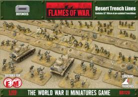 Battlefield in a Box - Desert Trench Lines