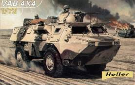 French VAB 4x4 Troop Transport Vehicle