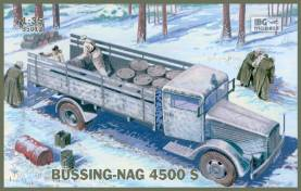 German WW2 Bussing-Nag 4500S Stake Body Supply Truck