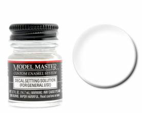 Model Master II Enamel Decal Setting Solution