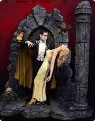 Bela Lugosi as Broadway Dracula with Female Victim (Deluxe)