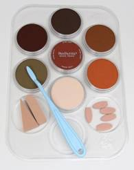 Weathering Color Kit Rust and Earth (7- 9ml pan colors, tray, tools)