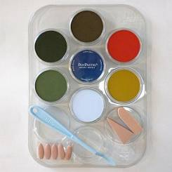 Scenery Color Kit (7- 9ml pan colors, tray, tools)