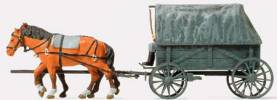 German Reich Horse Drawn Field Wagon Replacement Type 1939-45