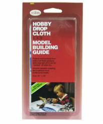 Hobby Drop Cloth and Model Building Guide