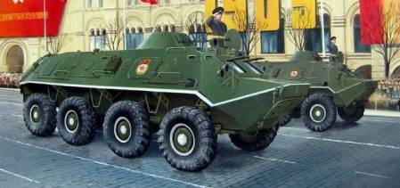 Russian BTR60PB Armored Personnel Carrier