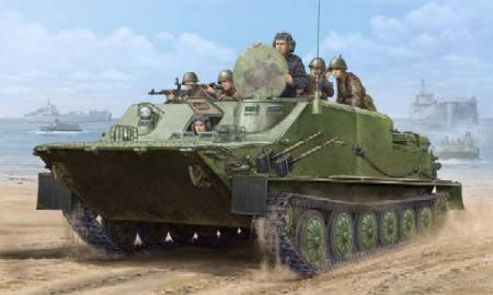 Russian BTR50PK Amphibious Armored Personnel Carrier - APC