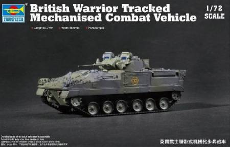 Warrior Tracked Mechanized Combat Vehicle