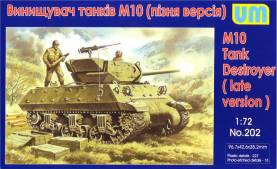 M10 Late Version Tank Destroyer