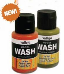 Vallejo Model Wash: Dark Brown Wash 35ml Bottle