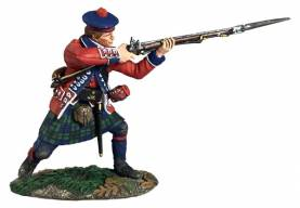Clash of Empires: British 42nd Royal Highland Regiment Standing Firing No.1