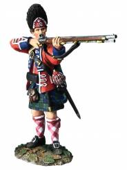 Clash of Empires: British 42nd Royal Highland Regiment Grenadier Standing Firing No.1