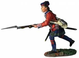 Clash of Empires: 42nd Royal Highland Regiment Battalion Coy Charging No.1 1760-63