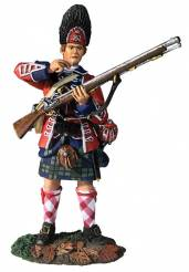 Clash of Empires: 42nd Royal Highland Regiment Grenadier Standing Tearing Cartridge 1760-63