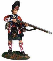 Clash of Empires: 42nd Royal Highland Regiment Grenadier Standing Alert 1760-63