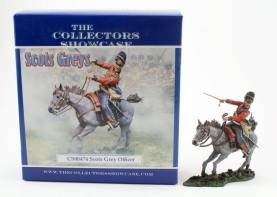 Collectors Showcase CS00474 Scots Grey Officer