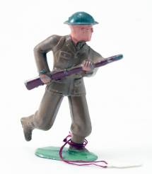 Barclay Soldier Running