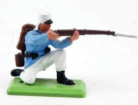 Britains Detail French Foreign Legion Kneeling Firing