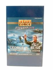 Blue Box Elite Force George Bush Naval Aviator #21262 12 Inch Action Figure NIB 1 Available OOP