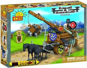 COBI Romans and Barbarians Wrecker, 260 Piece Set