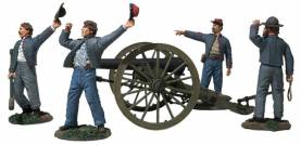 We Hit em Boys! - Confederate 10 Pound Parrott Gun