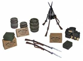 Civil War Encampment Accessory Set