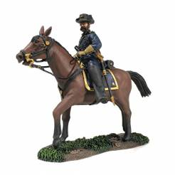 Federal General John Gibbon, Mounted