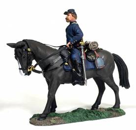 Federal Infantry Officer Mounted