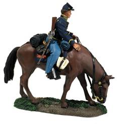 Federal Cavalry Trooper Mounted No.1