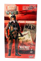 Blue Box Elite Force Japanese Pilot #34332 12 Inch Action Figure NIB 1 Available OOP