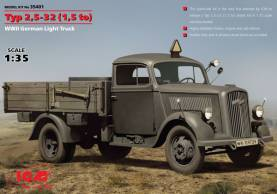 Typ 2.5-32 (1.5to) WWII German Truck