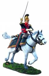 W Britain 1st Gear 36016 French 4th Lancer Officer Charging #1 Retired